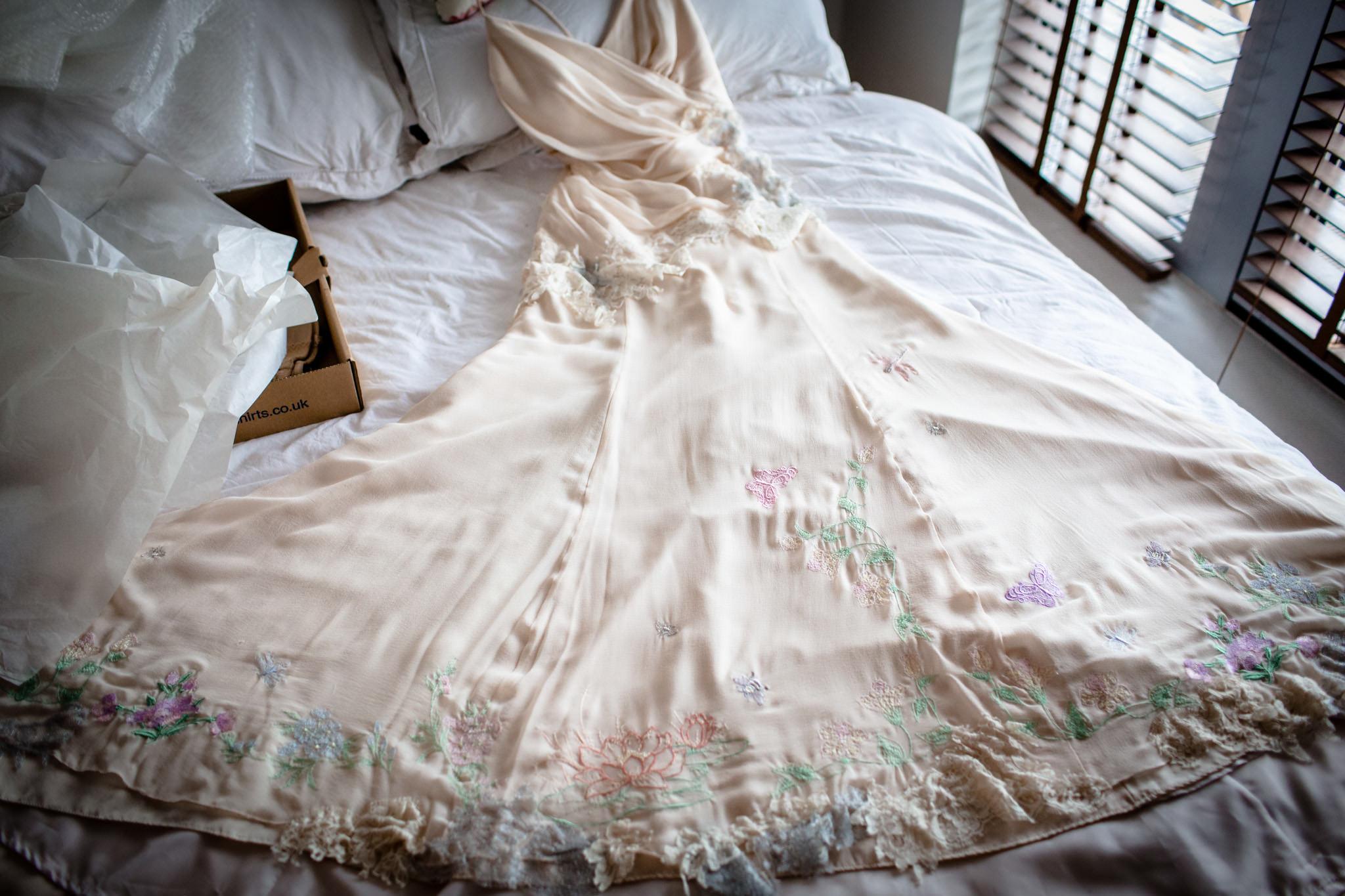 Clissold House wedding dress