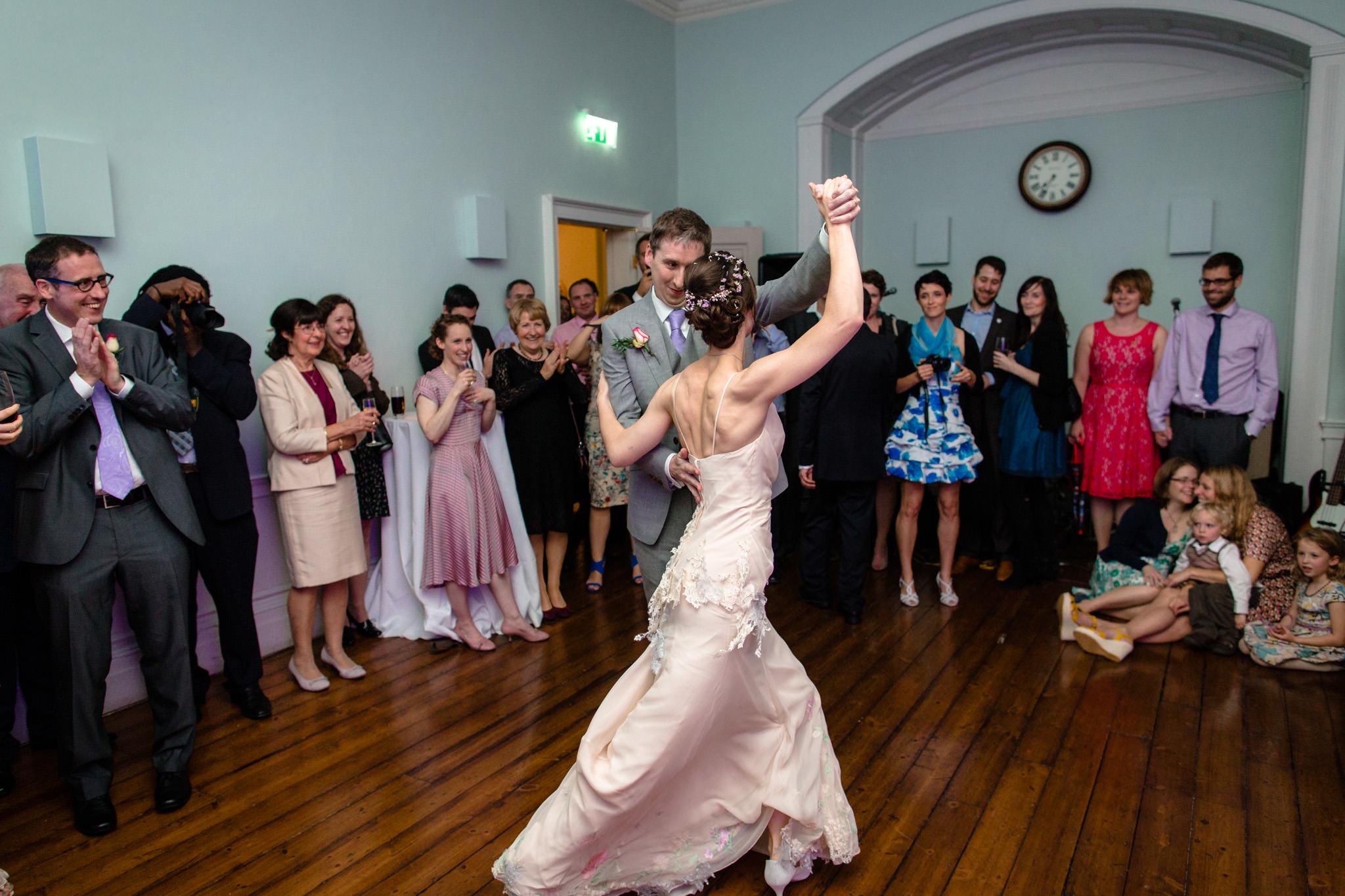 Clissold House wedding tango dance