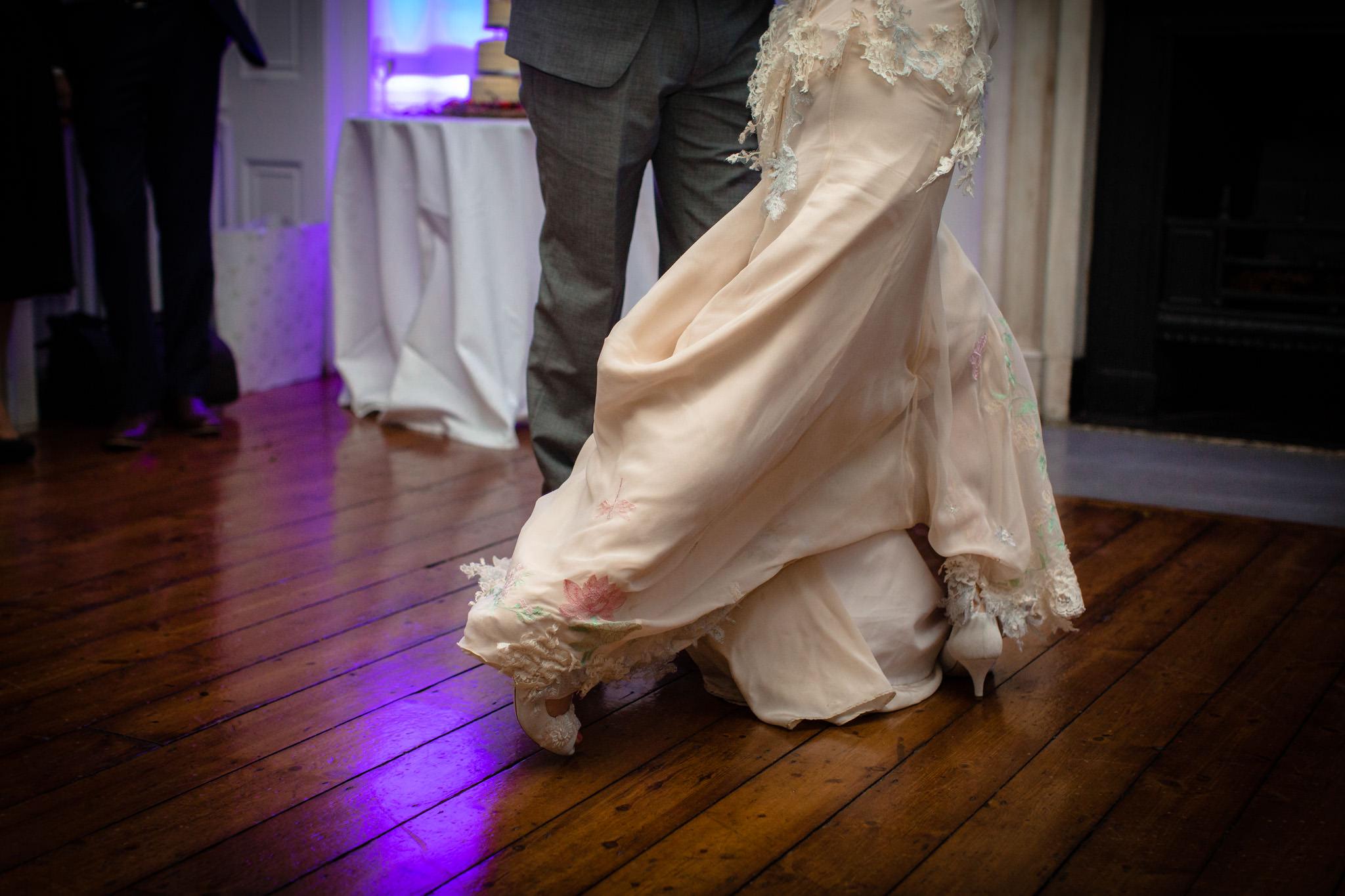 Clissold House wedding first dance