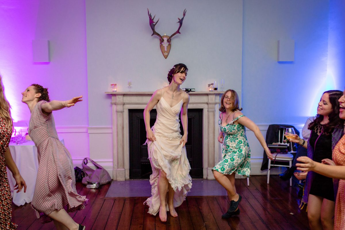 Clissold House wedding party