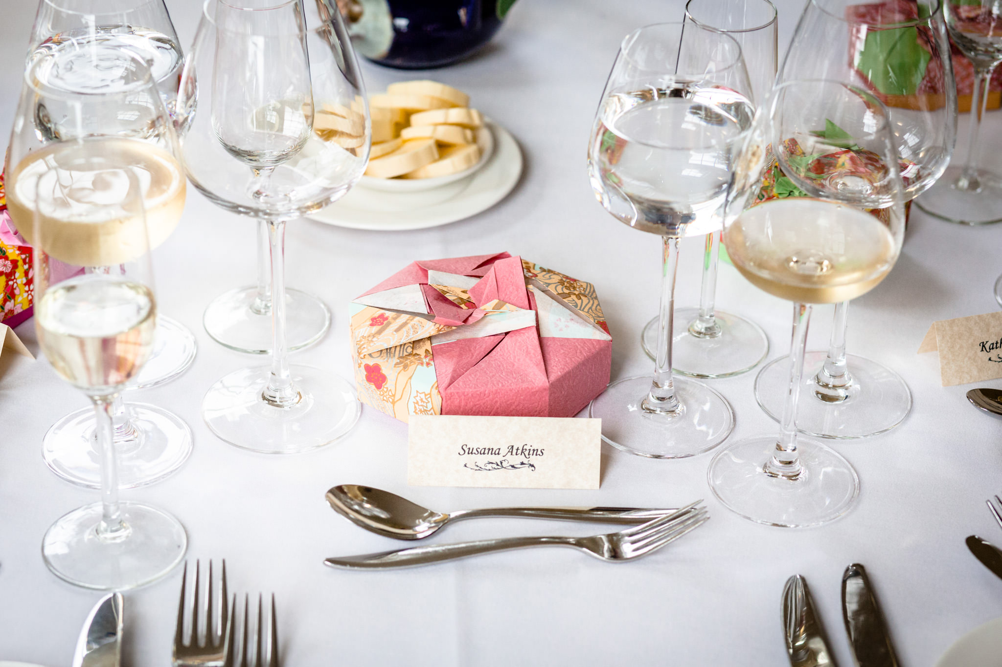 Clissold House wedding table decoration
