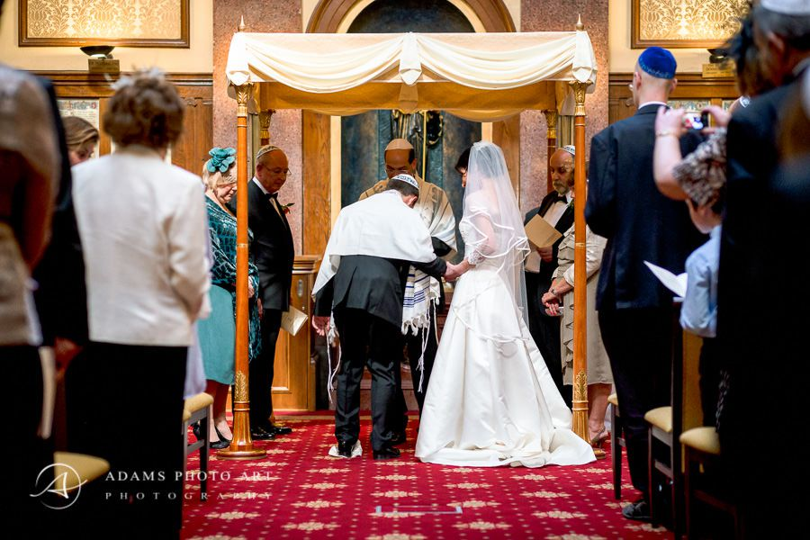 jewish wedding ceremony in london