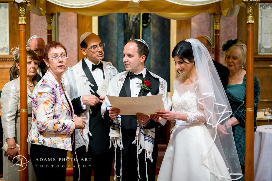 part of the jewish wedding ceremony