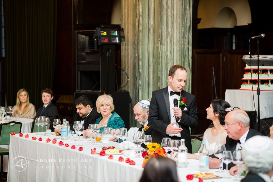 wedding speech at the party in london