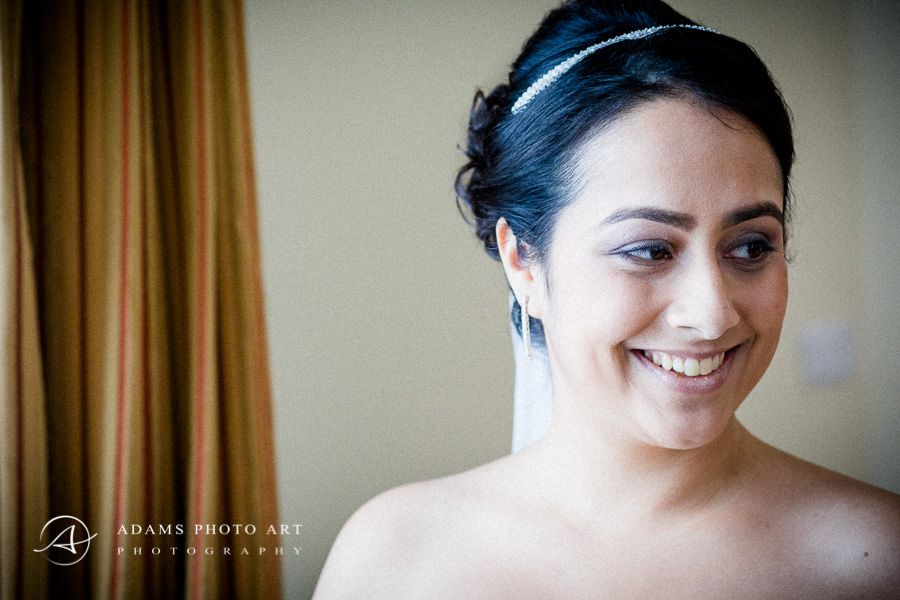 smile of the bride