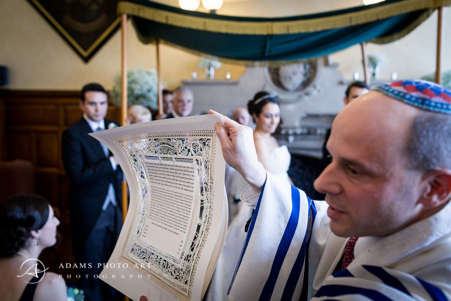 part of the jewish wedding traditions
