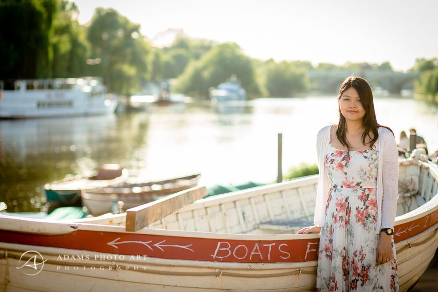 May-Ling by the river