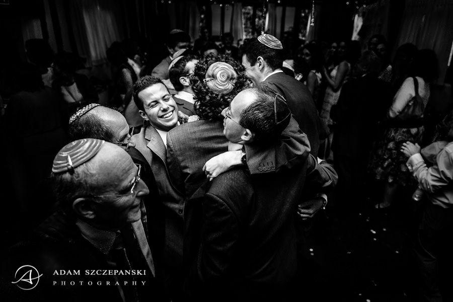 jewish wedding party in essex