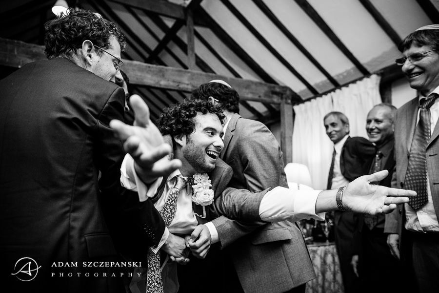 people having fun at natialie and ben wedding party