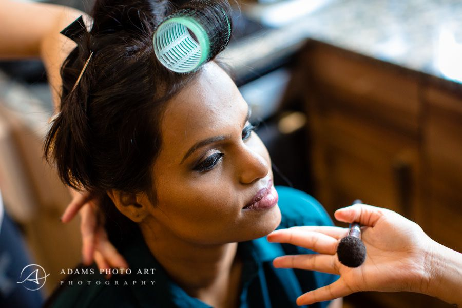 Northbrook Park Wedding Photographer bharkavy prepars for the wedding