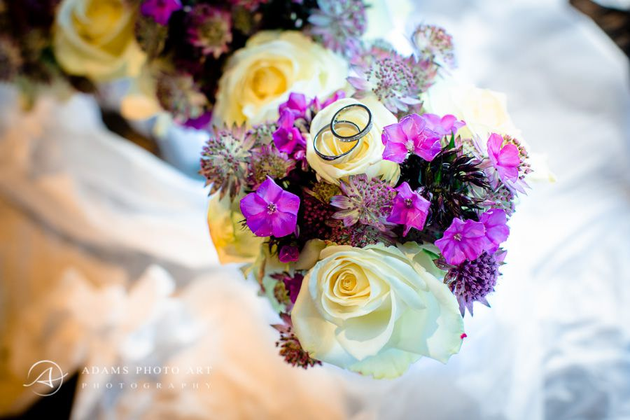 Northbrook Park Wedding Photographer colourful flowers