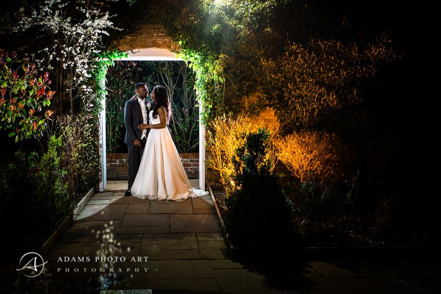 Northbrook Park Wedding Photographer romantic night photo session