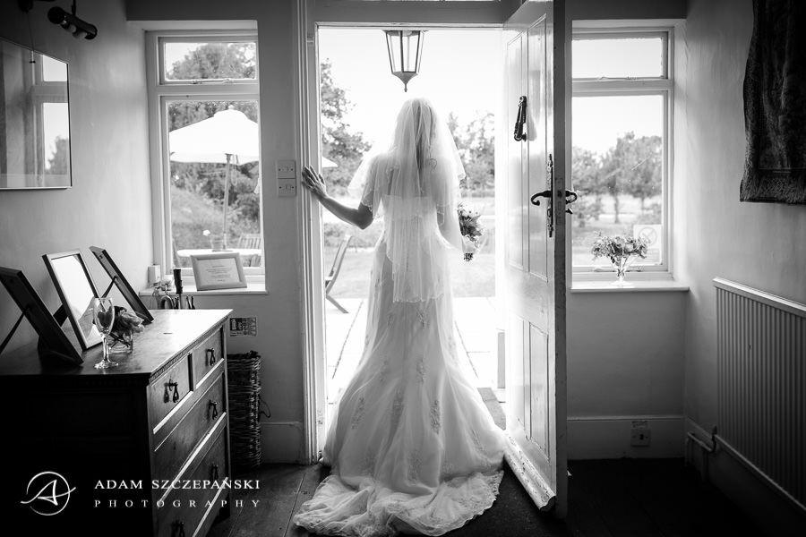 The Reid Rooms wedding photographer bride in the doorway