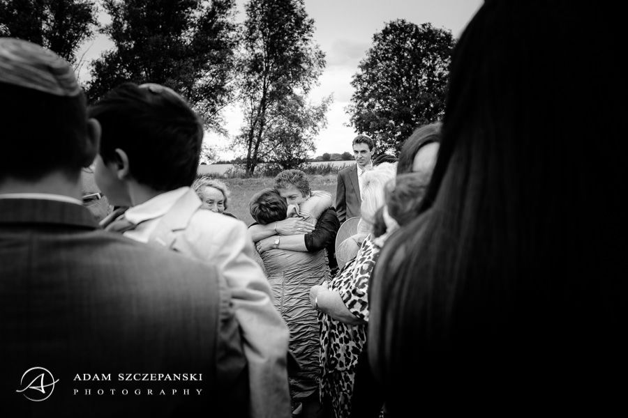 The Reid Rooms wedding photographer guests hugging