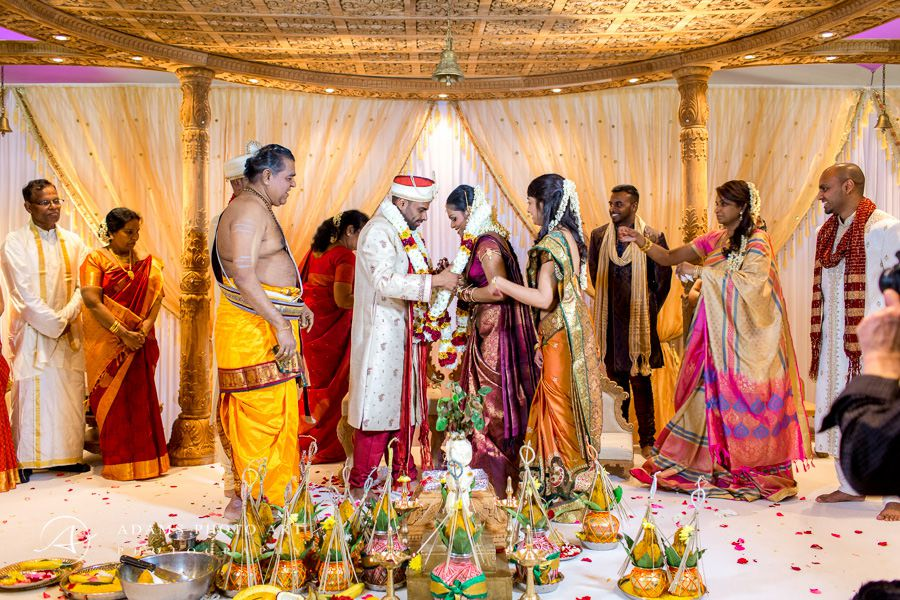 bharkavy and edwin the traditionally tamil wedding
