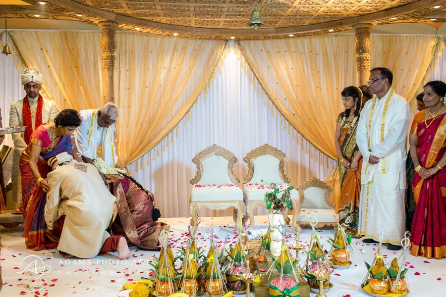 traditions during tamil wedding