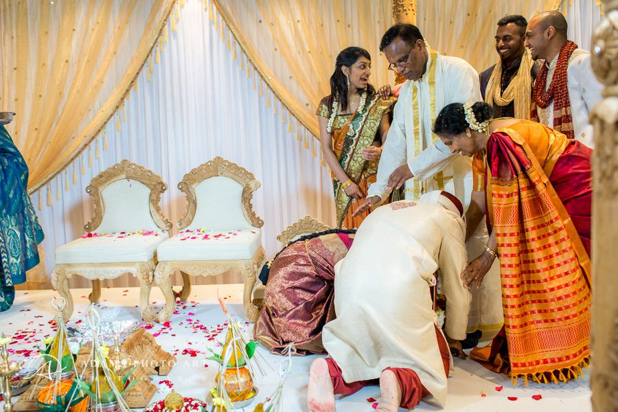 bharkavy and edwin and their tamil wedding