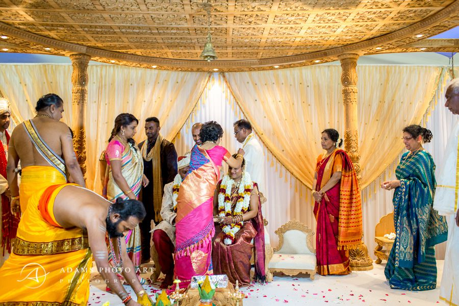 tamil wedding in the sattavis patidar centre