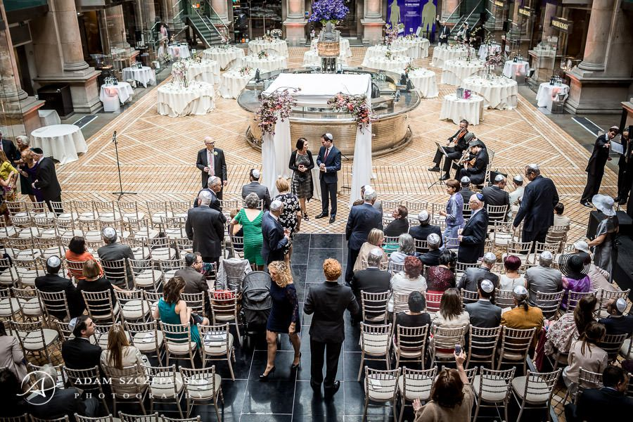 wedding of kathryn and romuald in the royal exchange