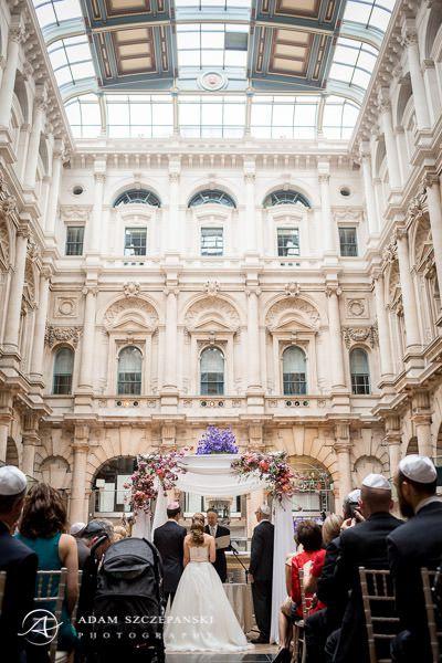 london weddig ceremony of kathryn and romuald