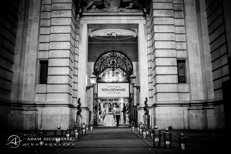 jewish london wedding in the royal exchange