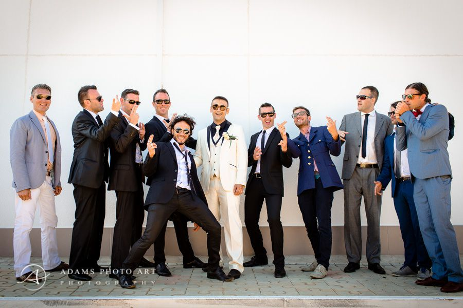 men on the destination wedding photography in portugal