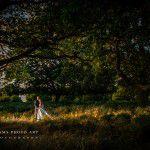 romantic photo session in the garden in richmond
