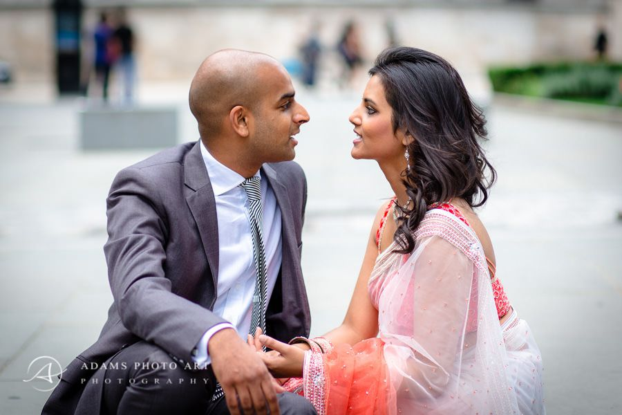 veena and kris the engagement picture