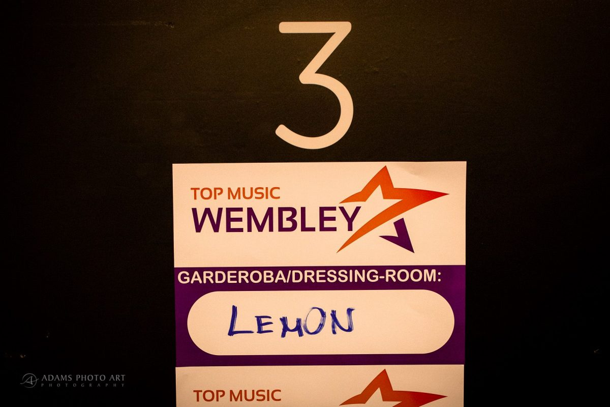 Lemon na Wembley Londyn Anglia | Lemon Band 3