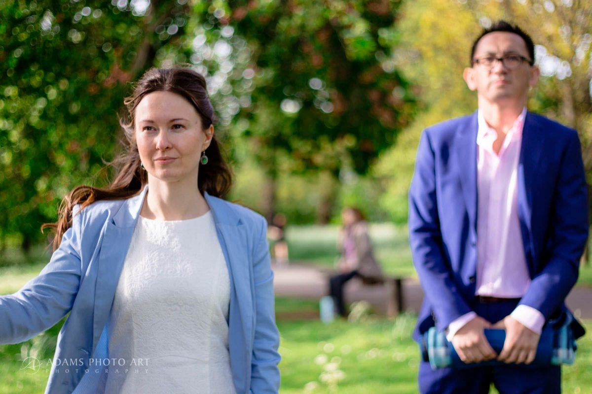 engagement picture from regents park