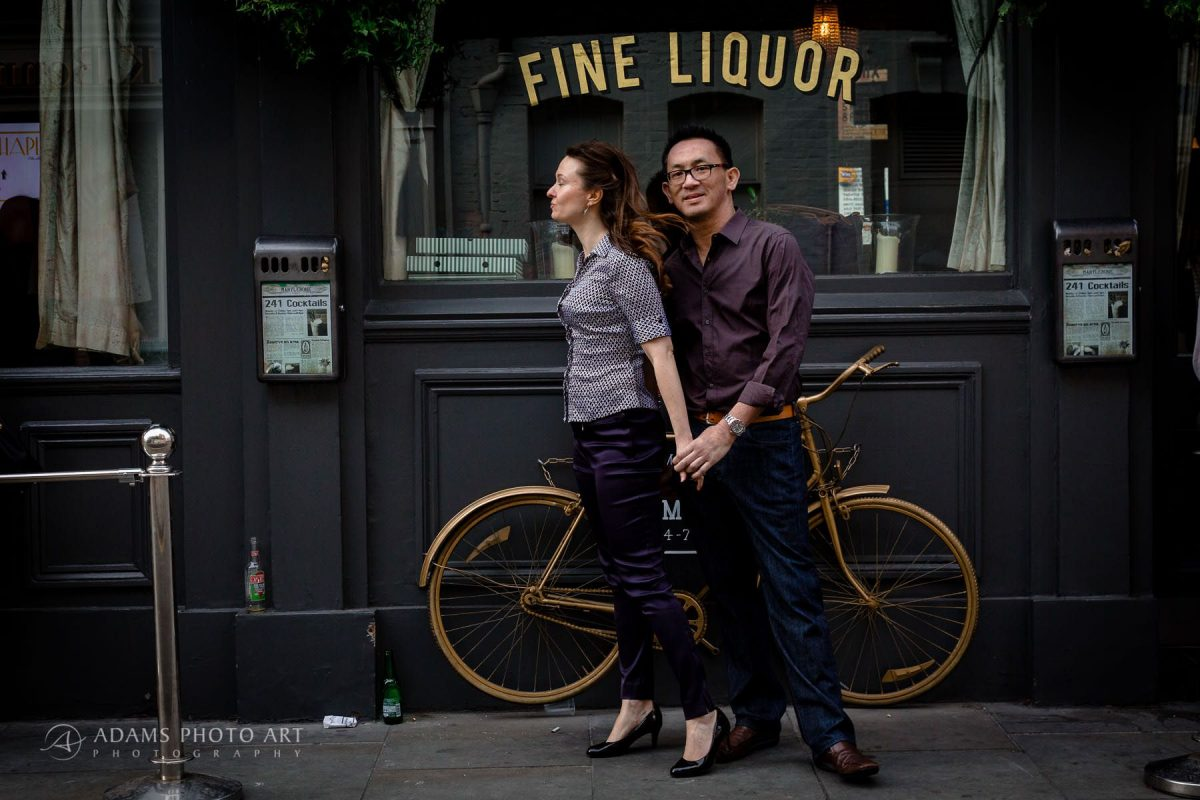 fine liquor and the bike
