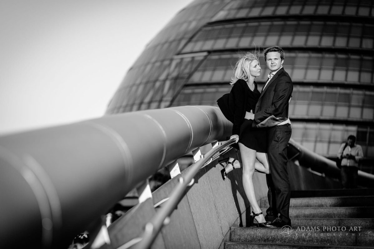 fred and tim engagement photography in london