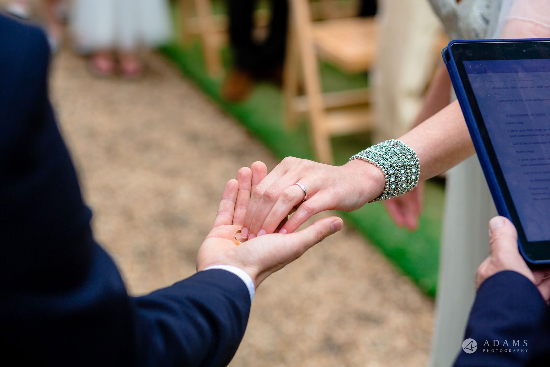Clare College wedding bride takes the ring