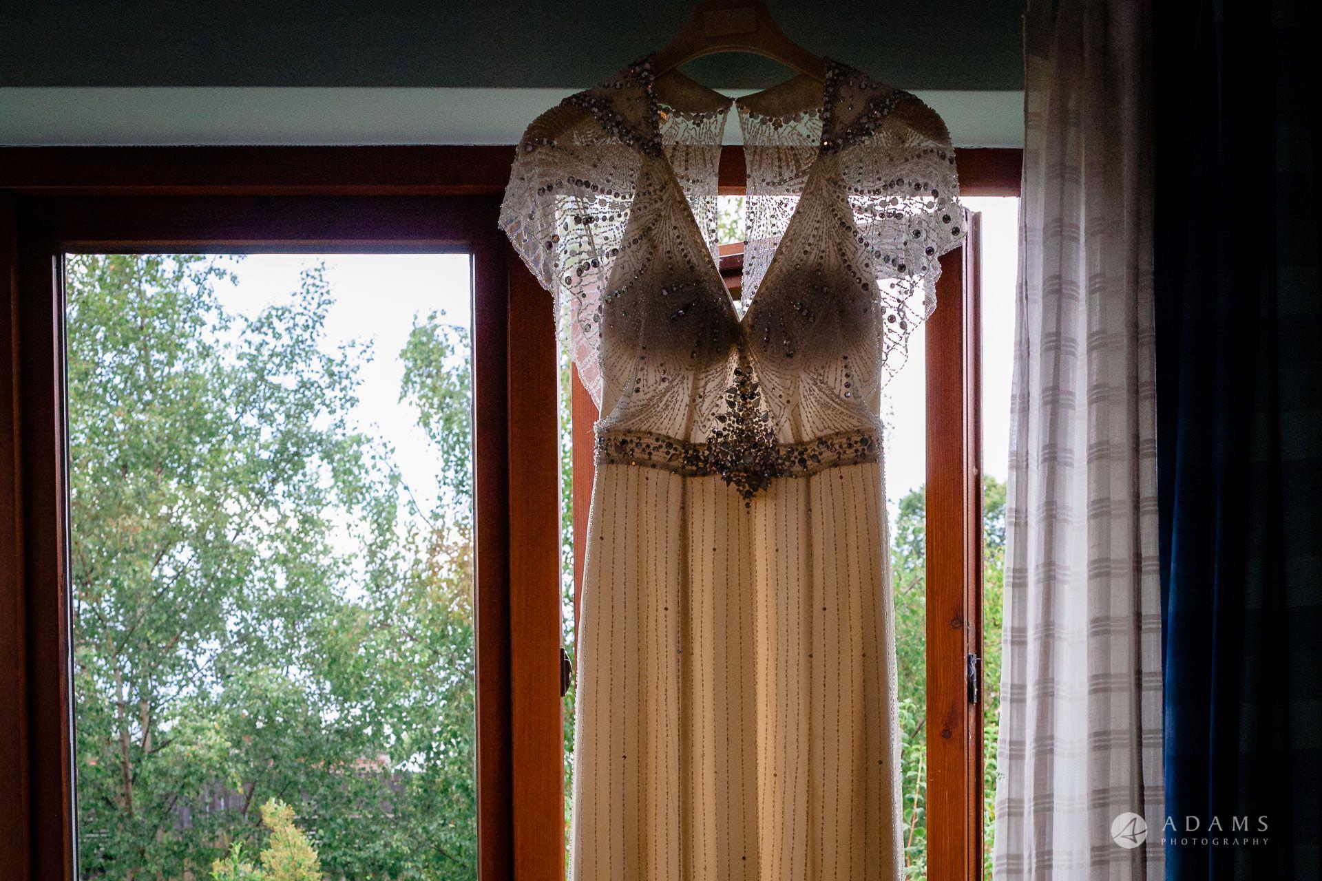 Clare College wedding dress