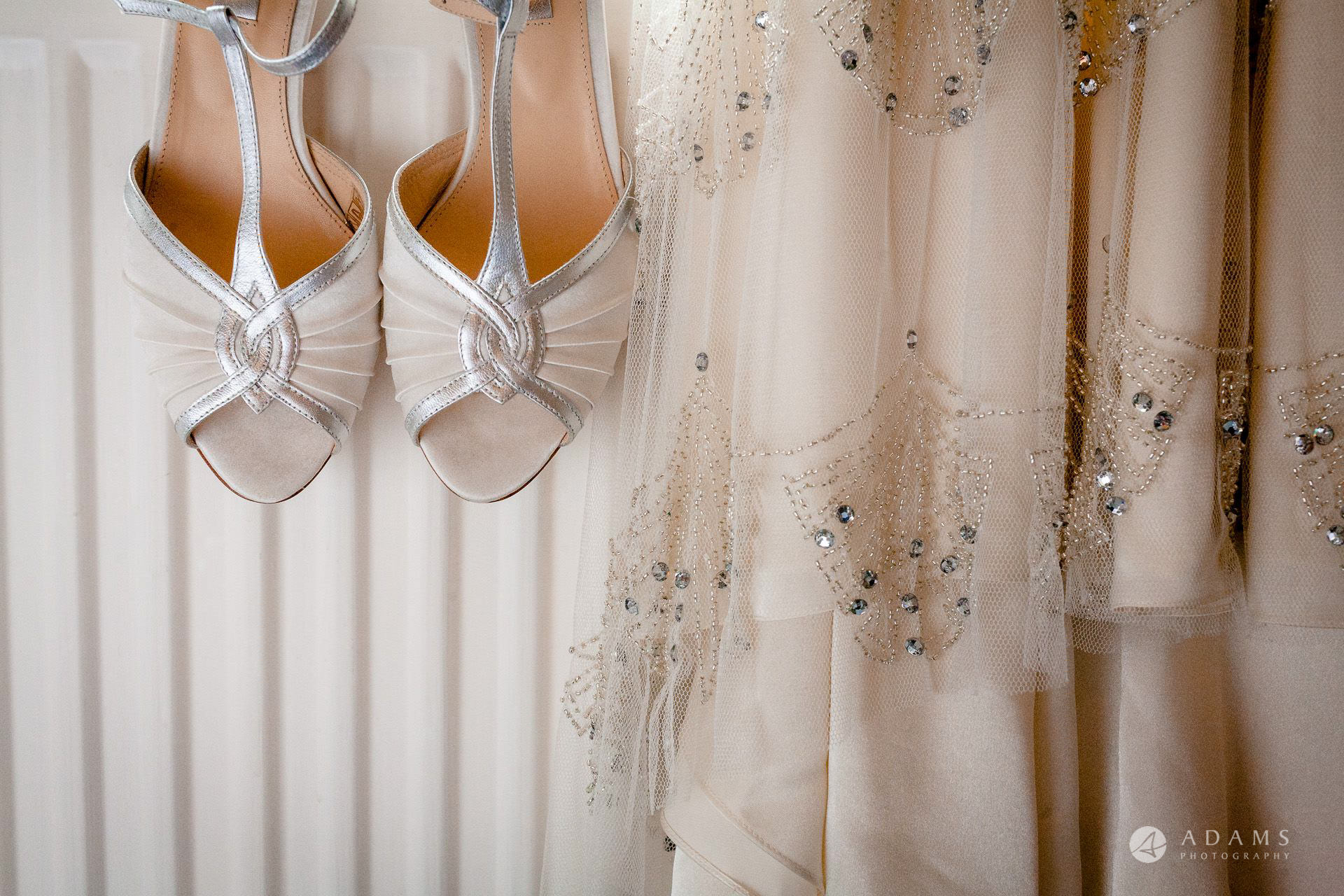 Clare College wedding shoes