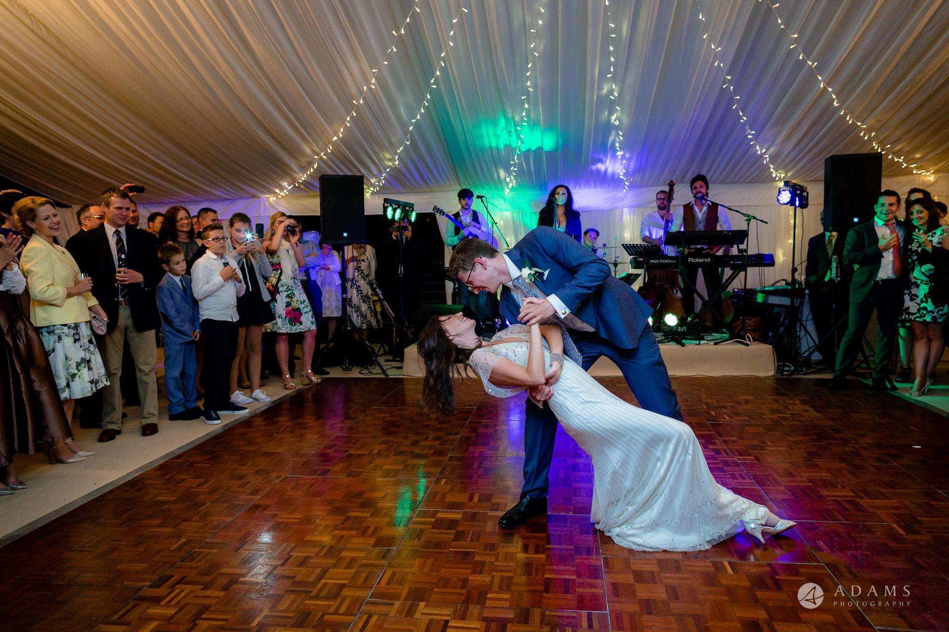 Clare College wedding first dance
