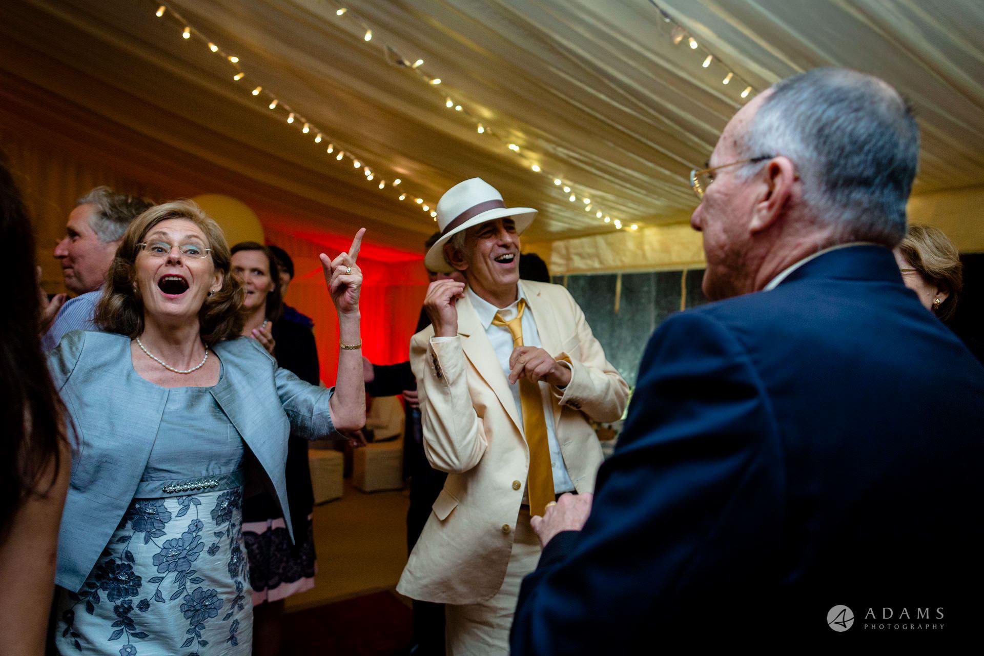 Clare College wedding parents dance