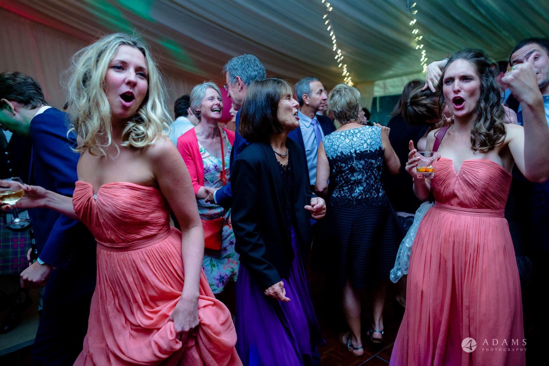 Clare College wedding dancing