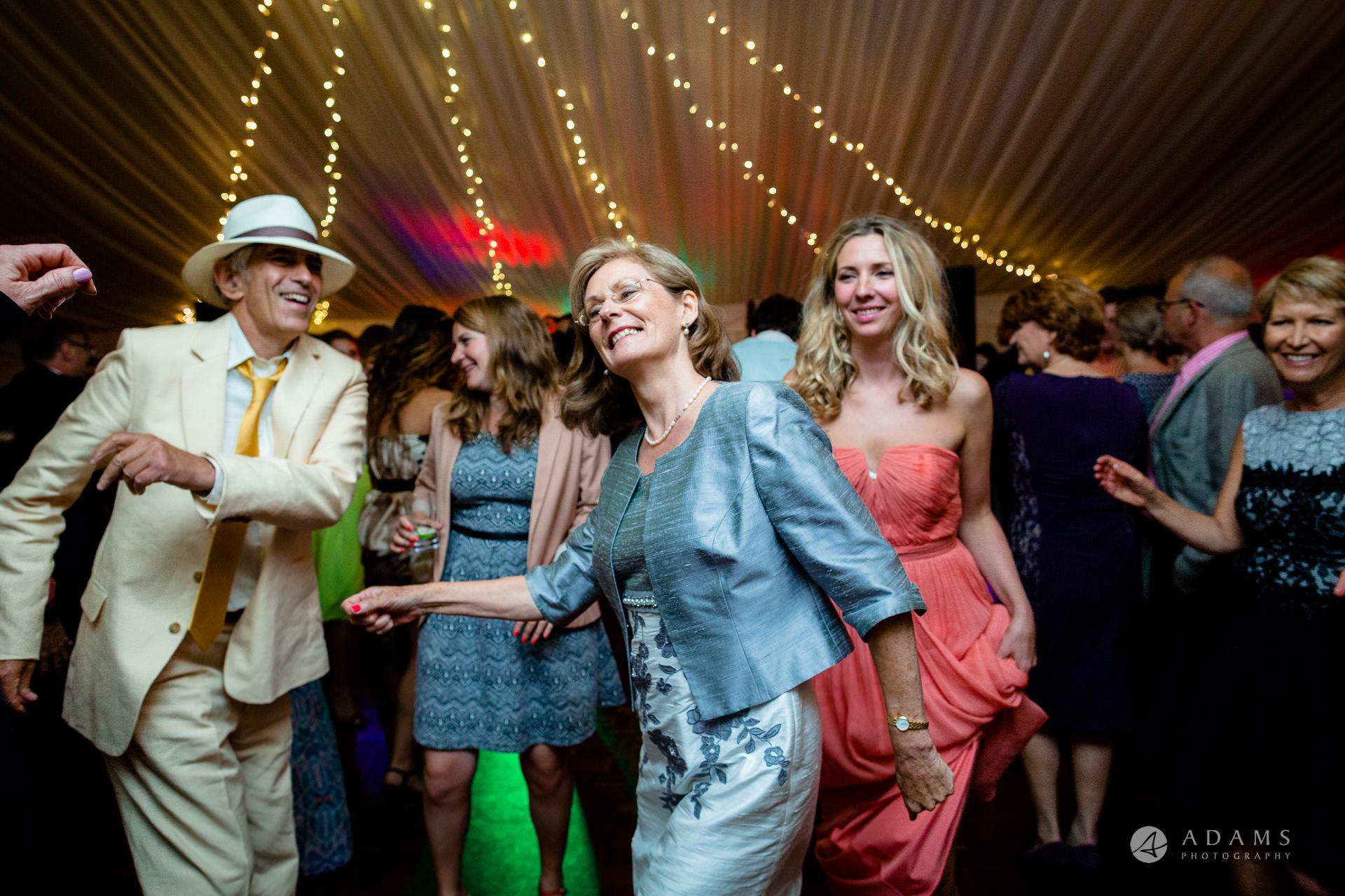 Clare College wedding more dancing