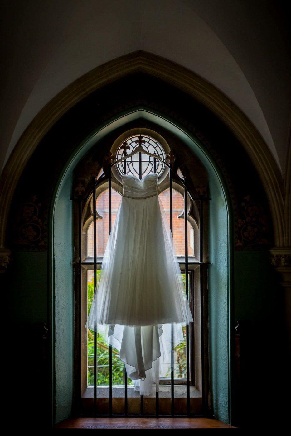 Wotton House wedding dress