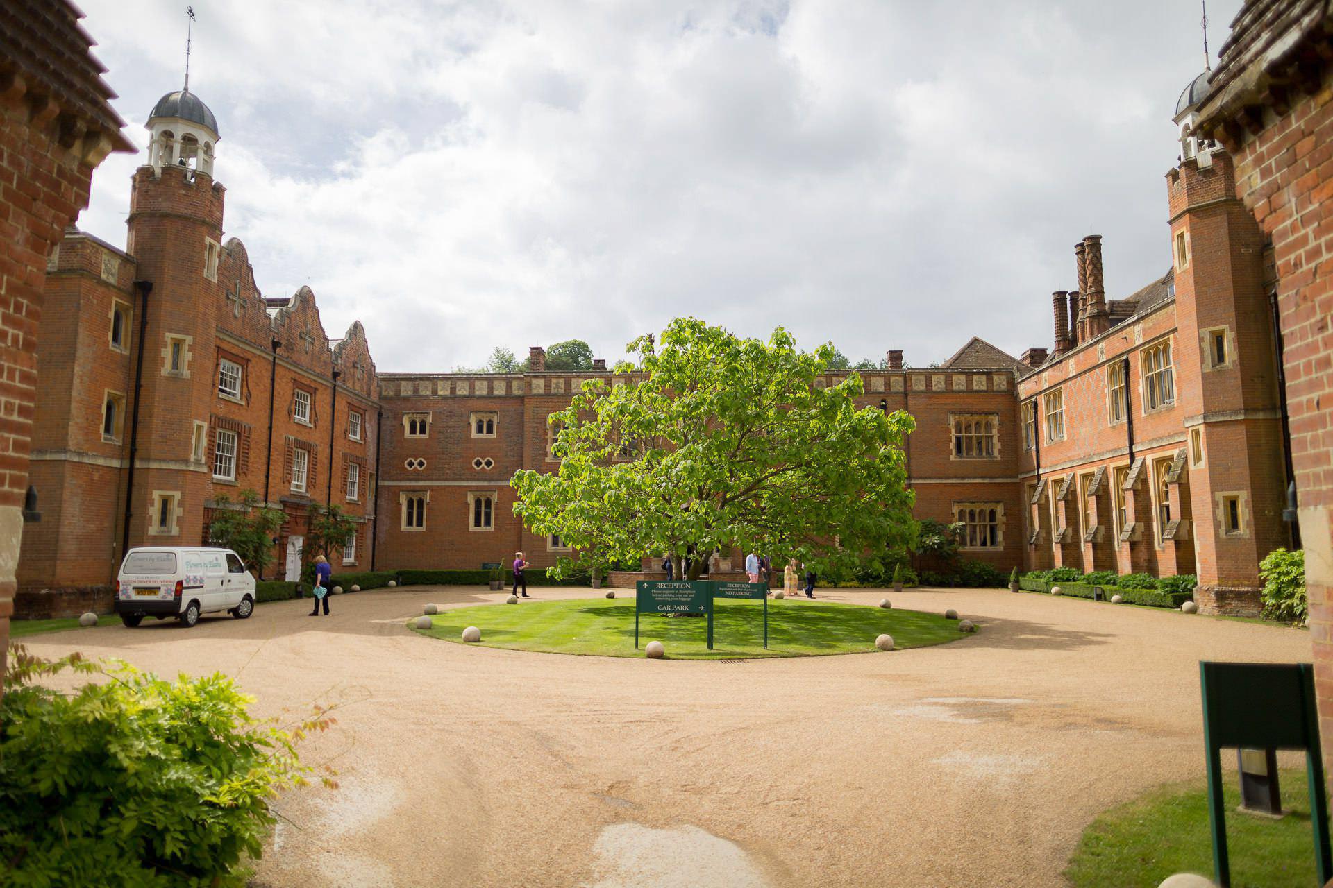 Wotton House wedding hotel courtyard
