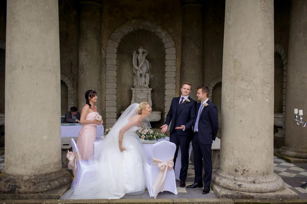 Wotton House wedding bride loughs