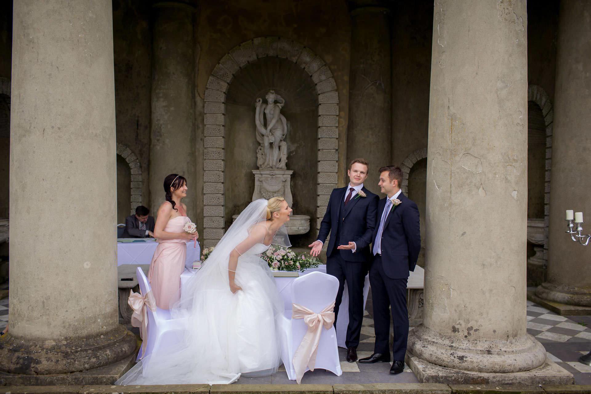 Wotton House wedding bride loughs