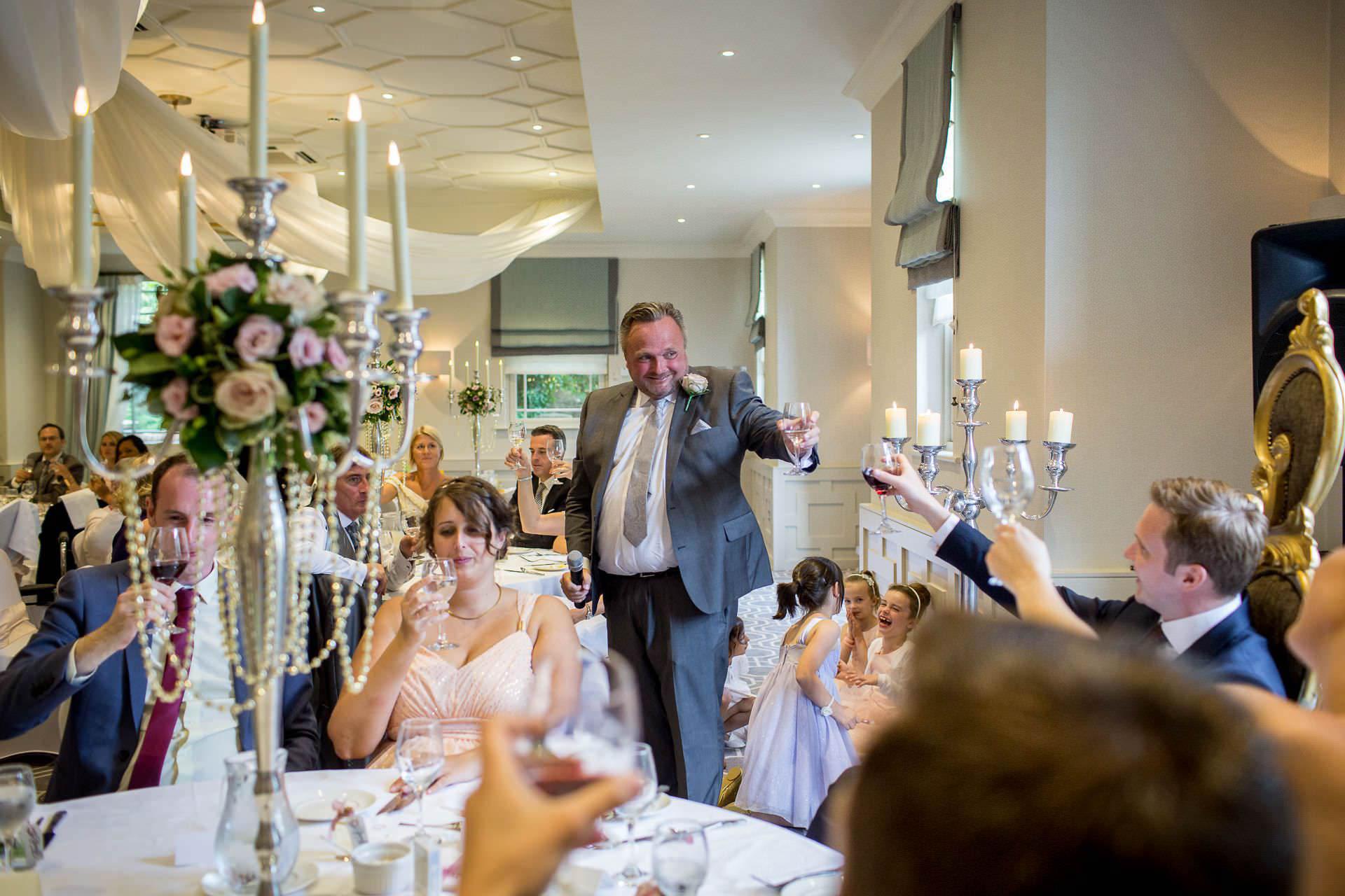 Wotton House wedding father of the groom speech