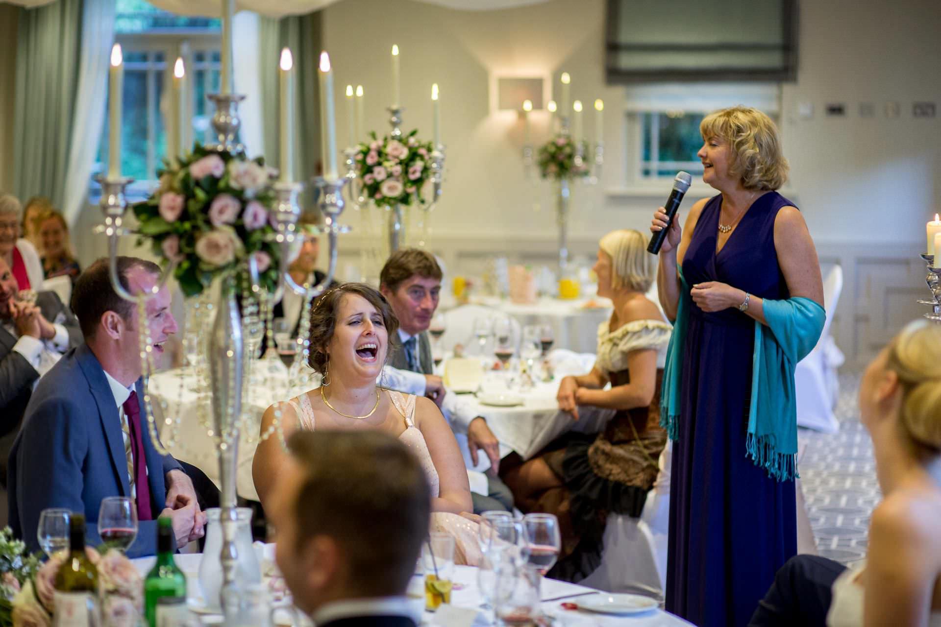 Wotton House wedding mother of the groom speech