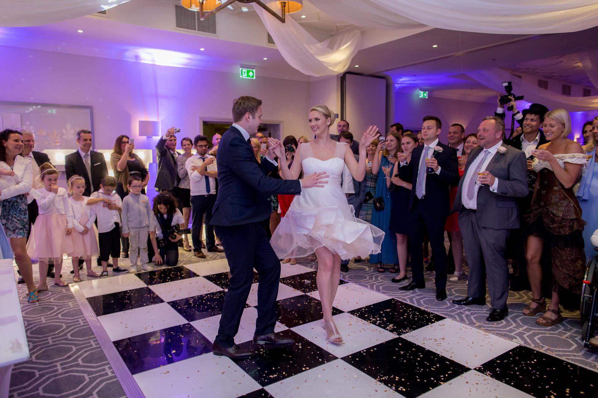 Wotton House wedding first dance