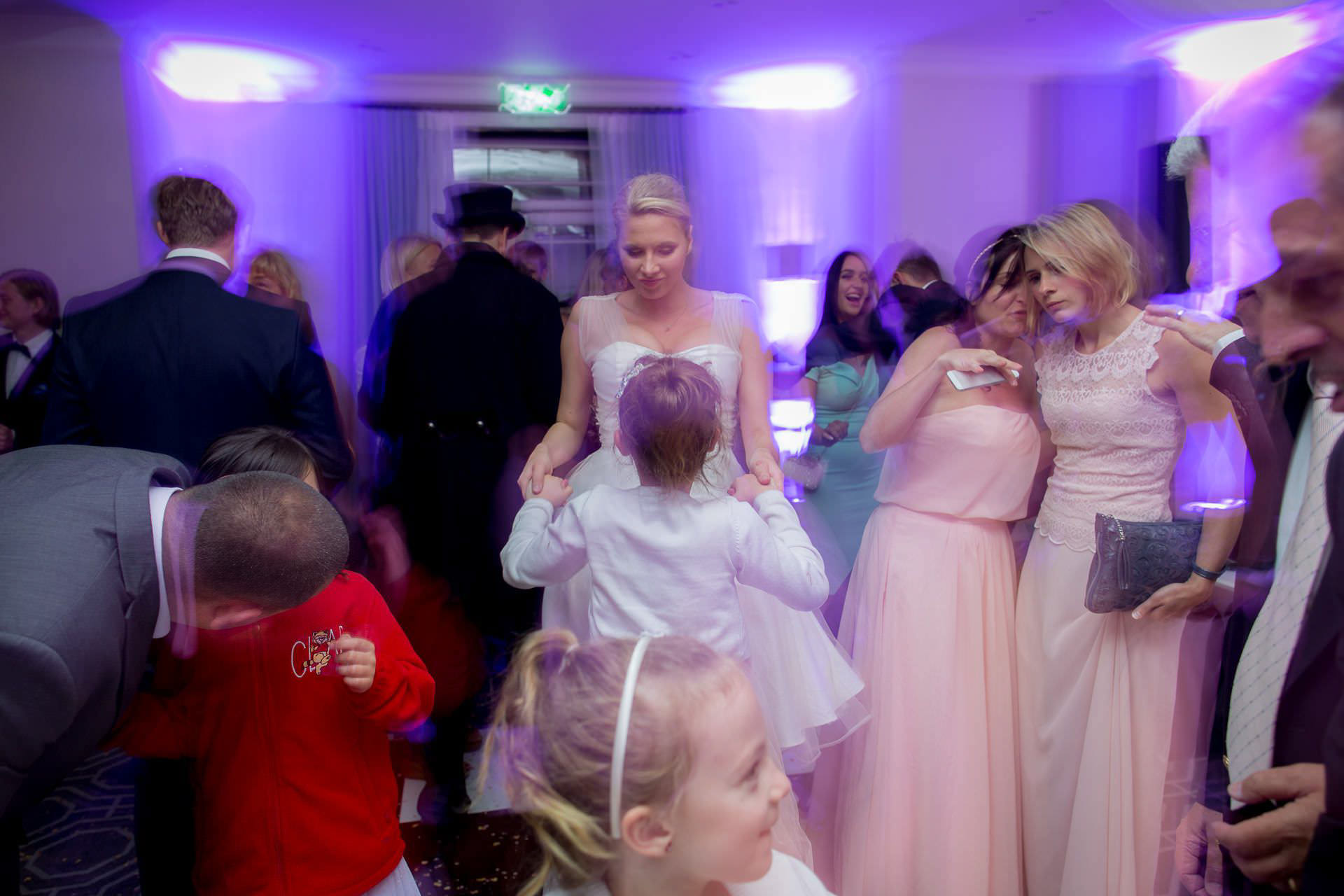 Wotton House wedding party