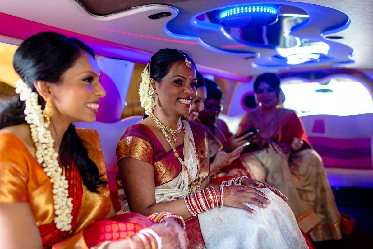 women on asian wedding in london