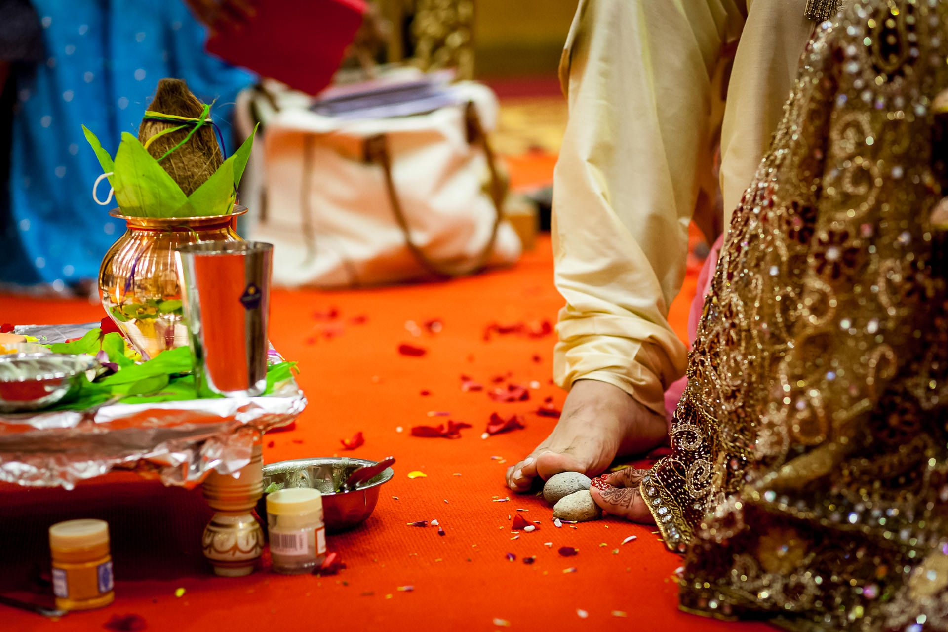 traditional asian wedding in london