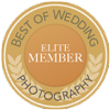 Best wedding photography badge